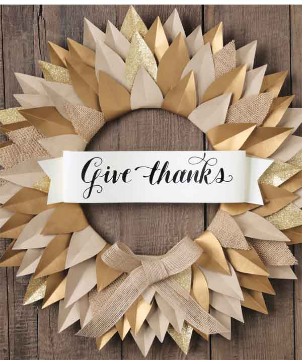 How To Give Thanks Banner