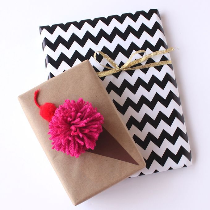 Ice Cream Cone Gift Wrap