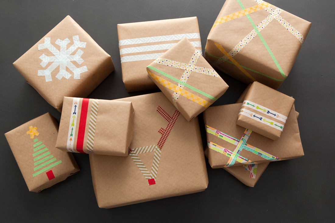 Last Minute Gift Wrap Idea