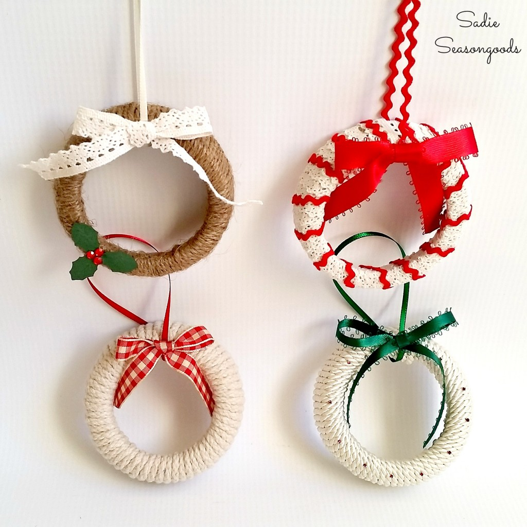 Old fashioned christmas ornaments to make 6