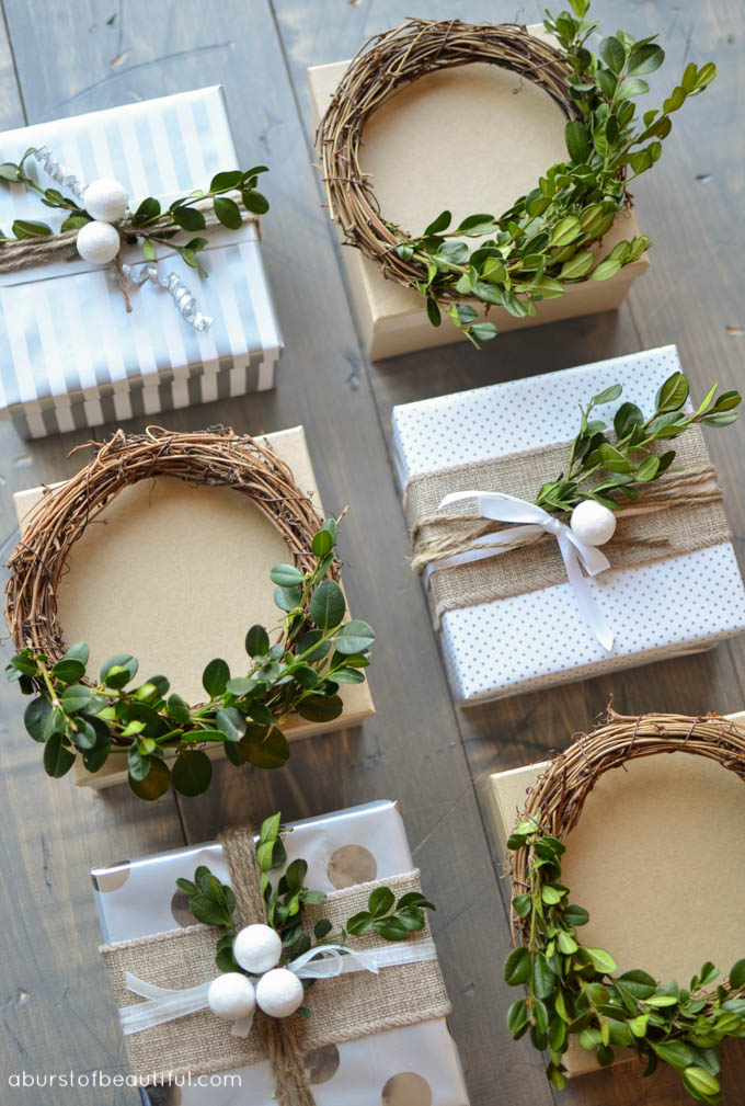 Mini Boxwood Wreath Tutorial