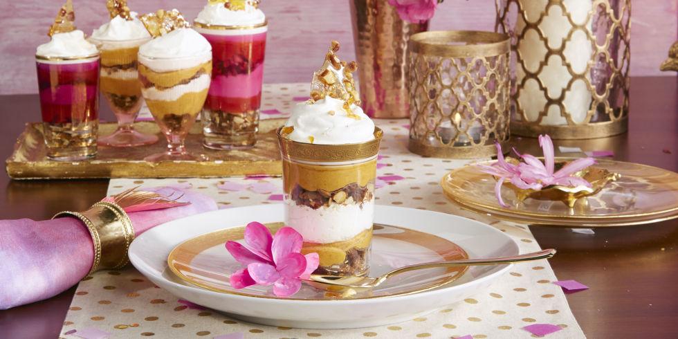 No-Bake Pumpkin Cheesecake Mini Trifles