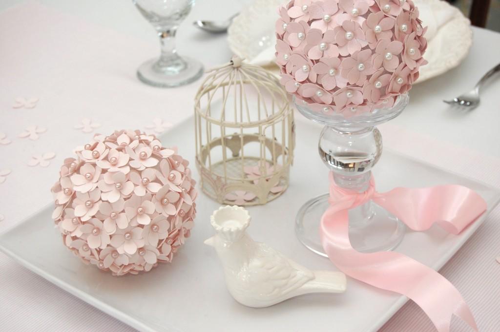 Paper Flower Pomander Ball