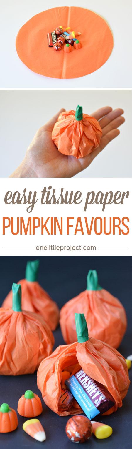 Tissue Paper Pumpkin