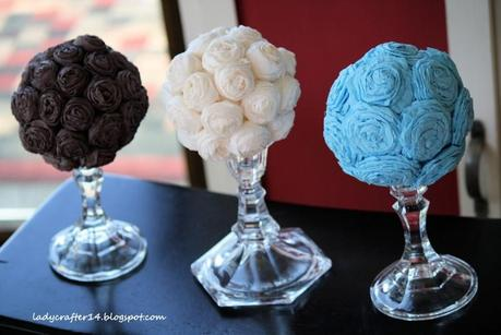 Wedding Crepe Paper Flower Balls