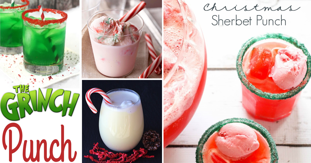 20 christmas punch ideas refreshing the guests with sparkles tangs and fizzy goodness cute diy projects