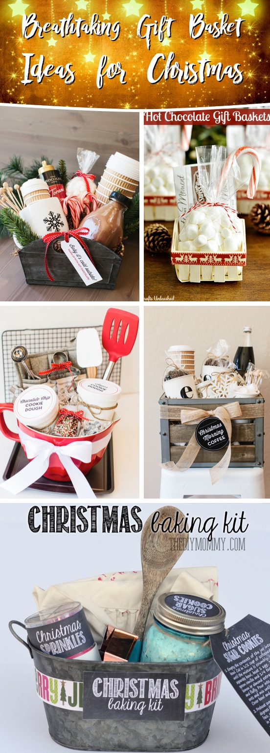 Christmas Gift Baskets Ideas.25 Breathtaking Gift Basket Ideas For Christmas That Are