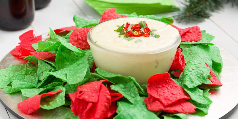 Christmas Queso Recipe
