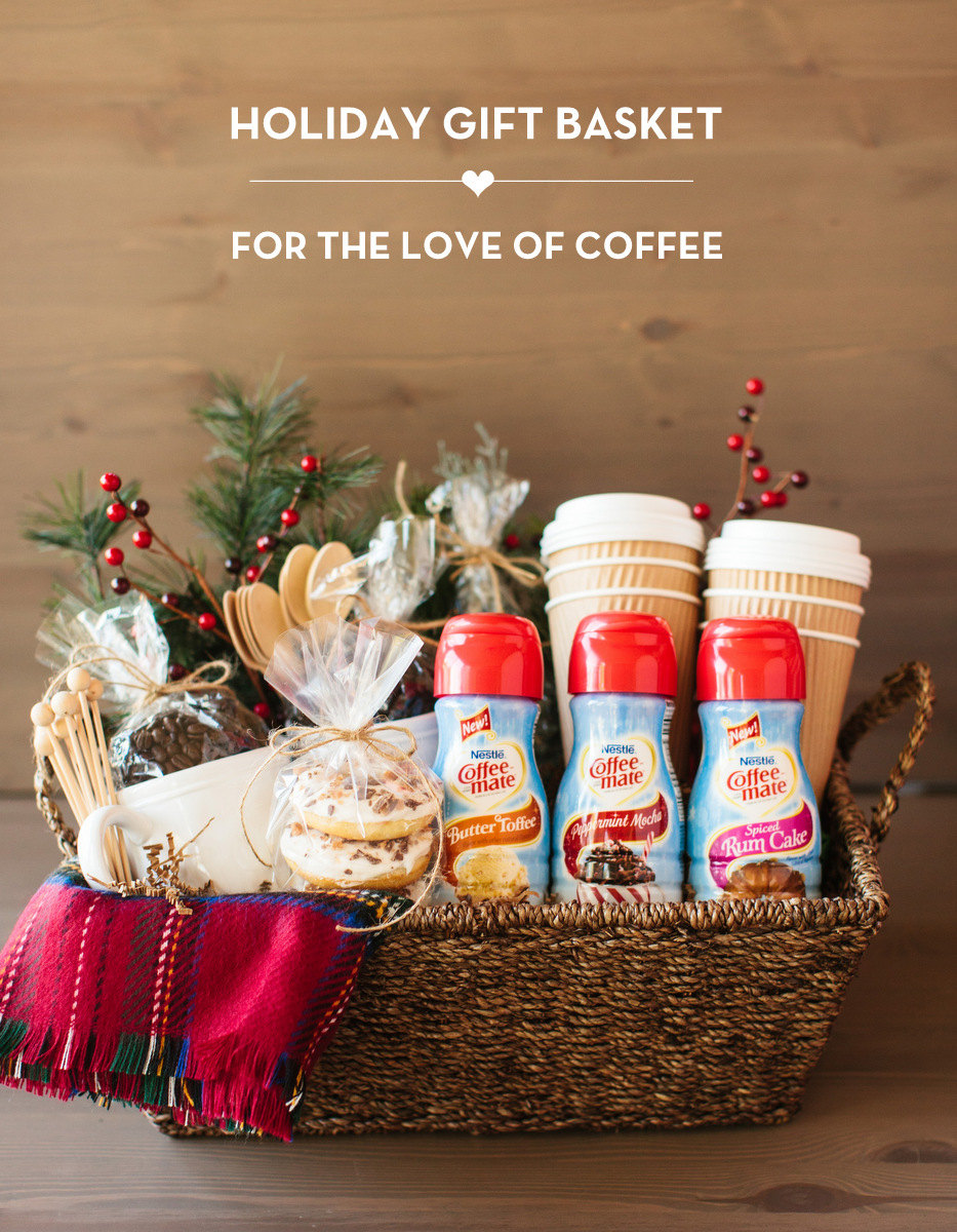 Coffee Holiday Gift Basket