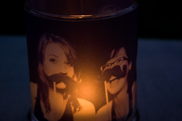 DIY Film Candle Holder