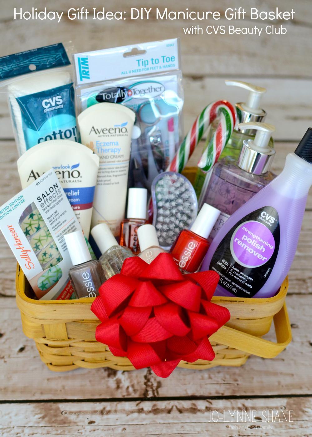 DIY Manicure Gift Basket