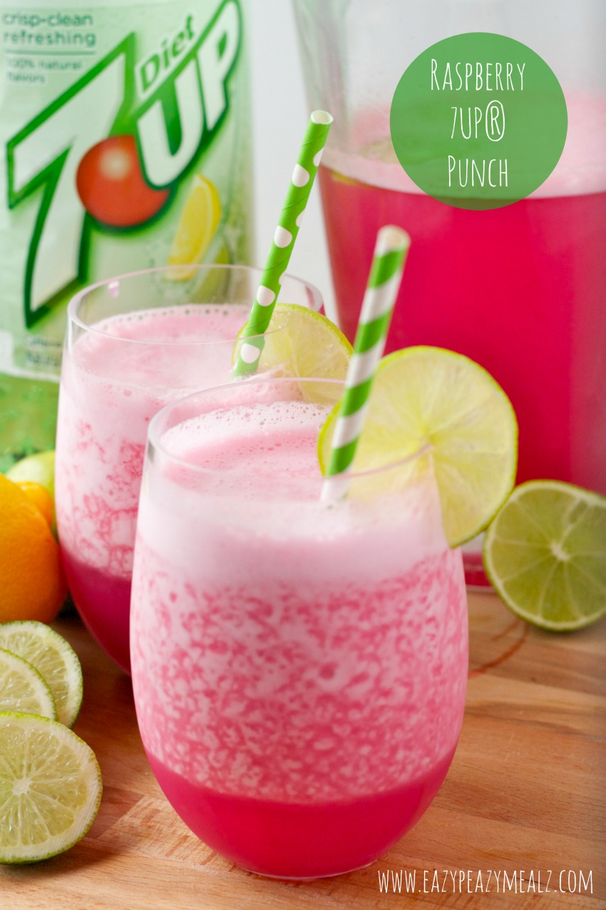 Dry Ginger Ale 7up Punch