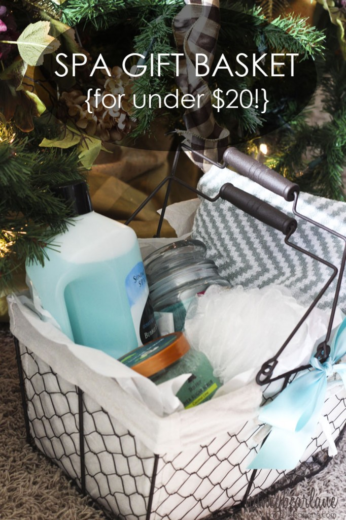 Gift Basket For Under $20