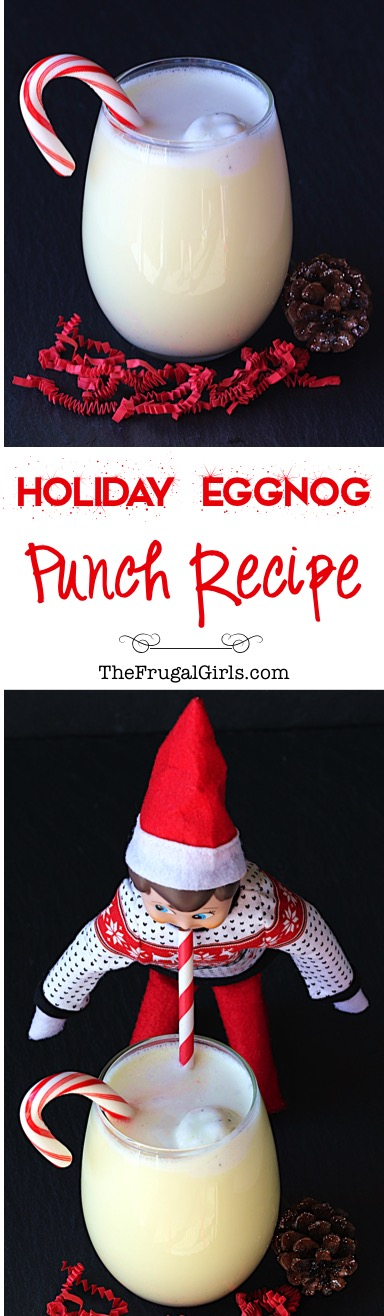 Holiday Eggnog Punch