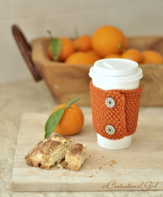 Knit Coffee and Tea Cozies