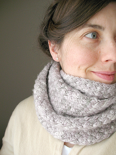 Malabrigo weave scarf