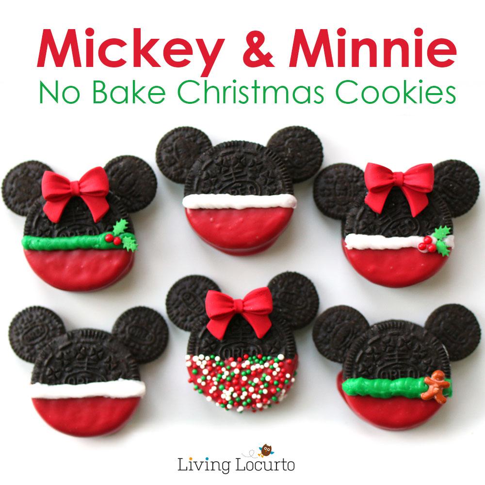 Mickey Minnie Christmas Cookies