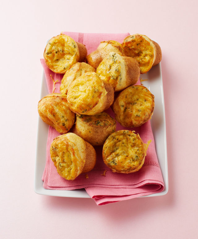 Mini Cheese Popovers Recipe