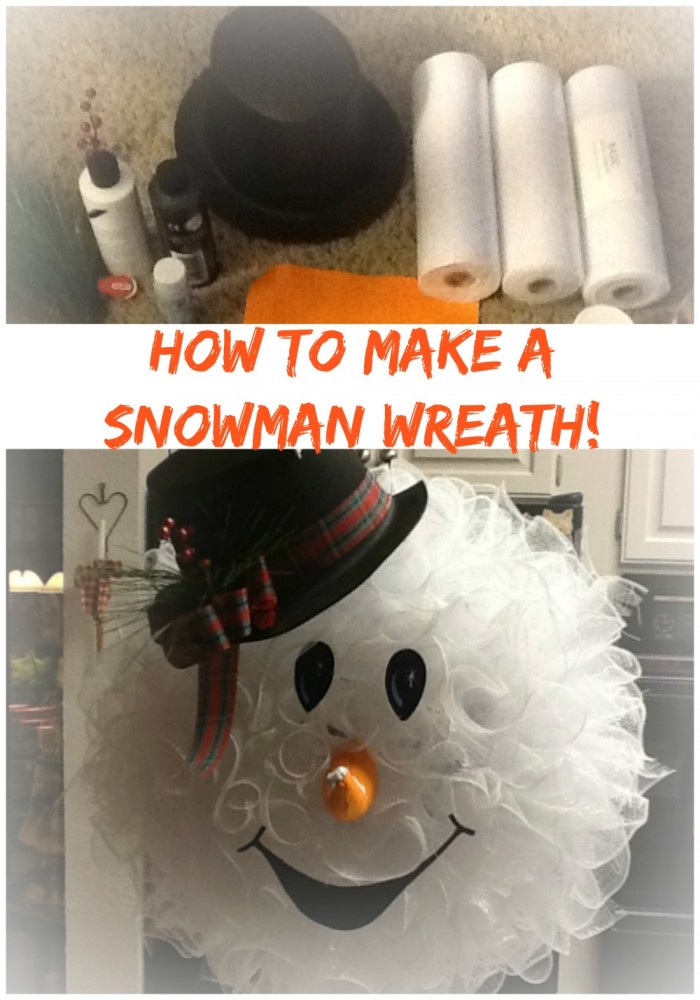 Peggy's Snowman Wreath
