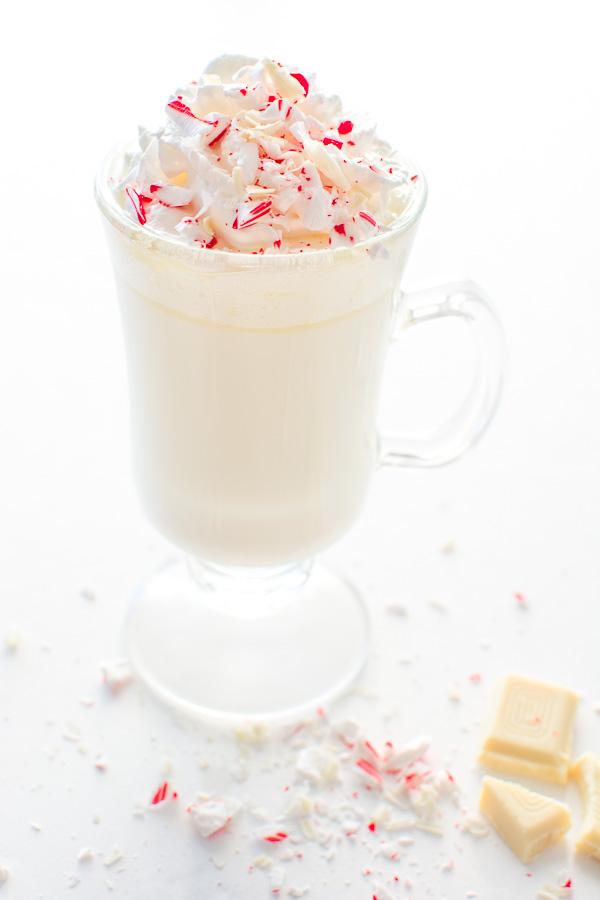 Peppermint White Hot Chocolate
