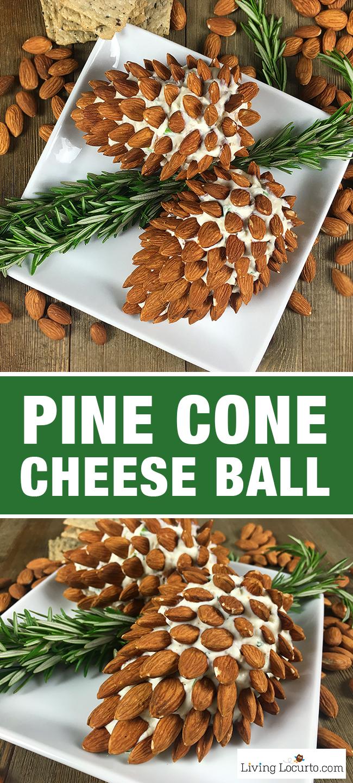 Pine Cone Cheese Balls