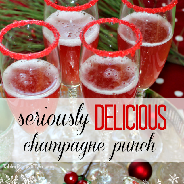 20 Christmas Punch Ideas Refreshing The Guests With Sparkles, Tangs ...