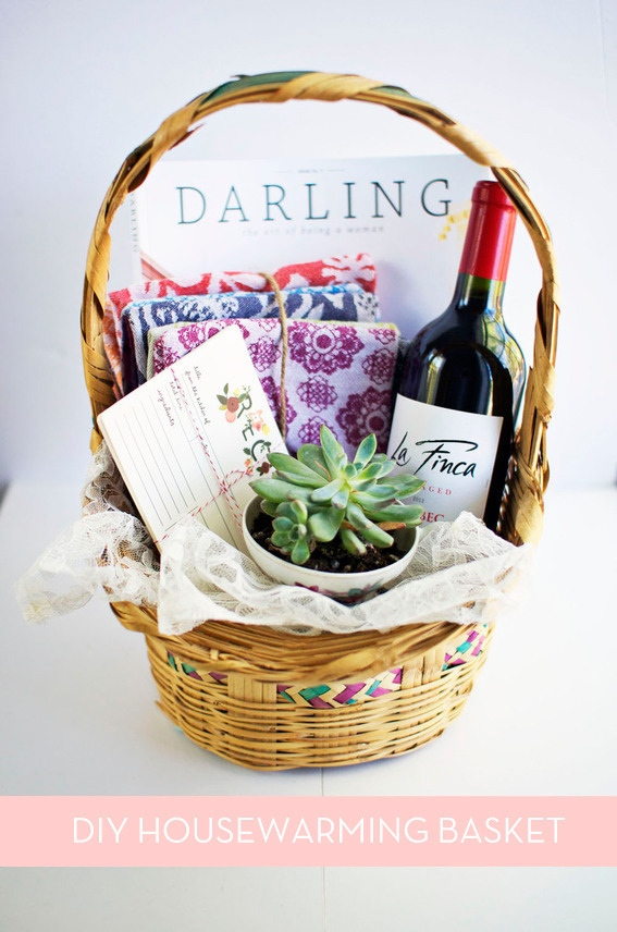 The Perfect DIY Housewarming Gift Basket