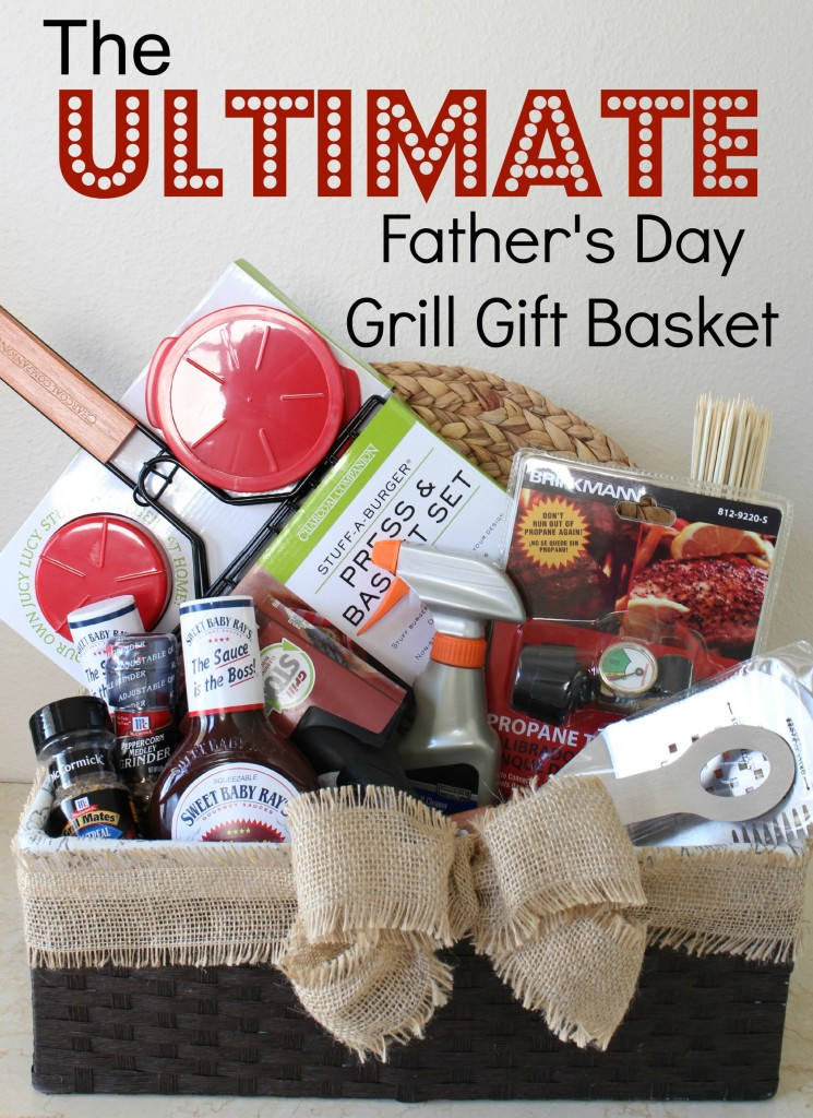 The Ultimate Grill Gift Basket