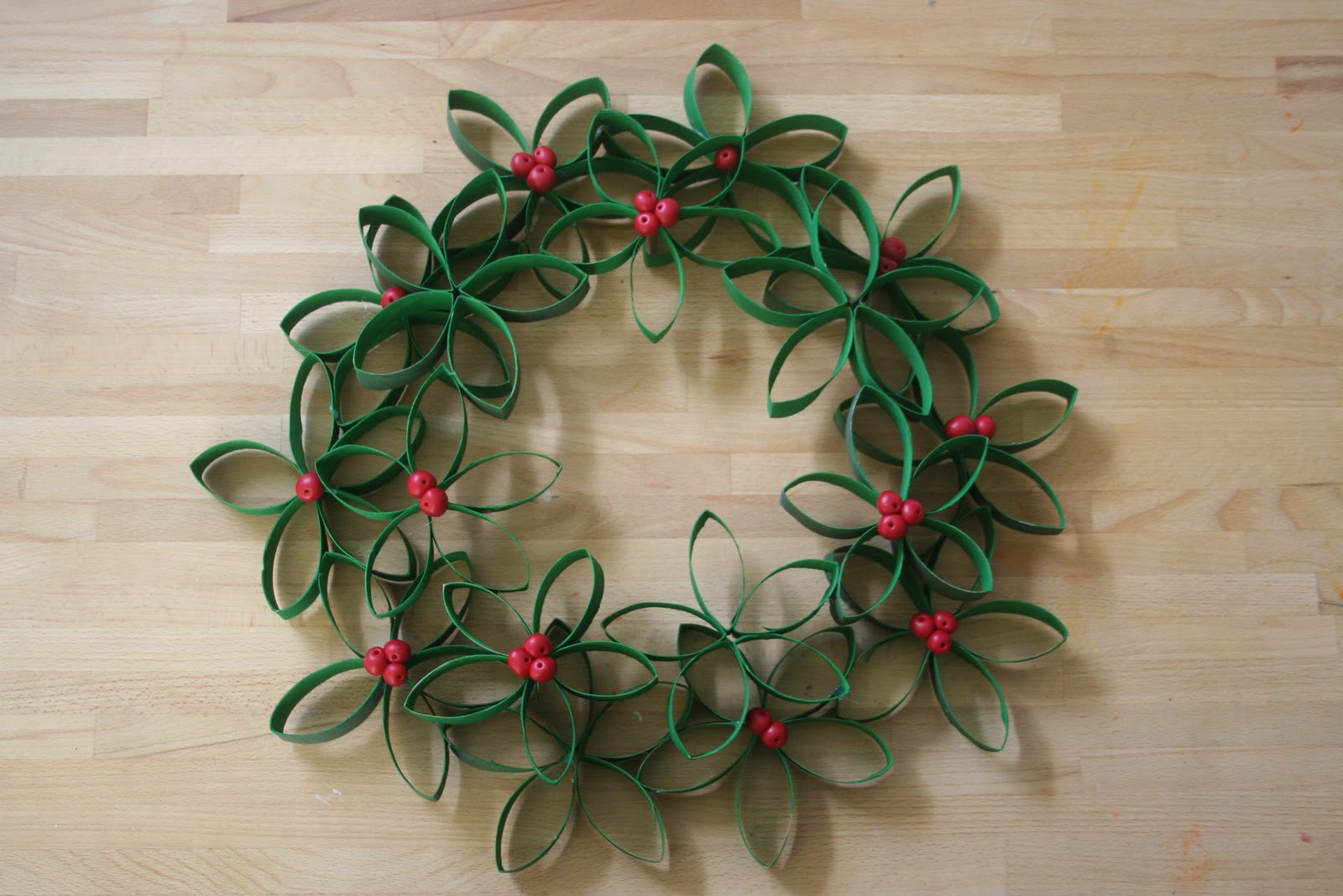 Toilet Paper Wreath