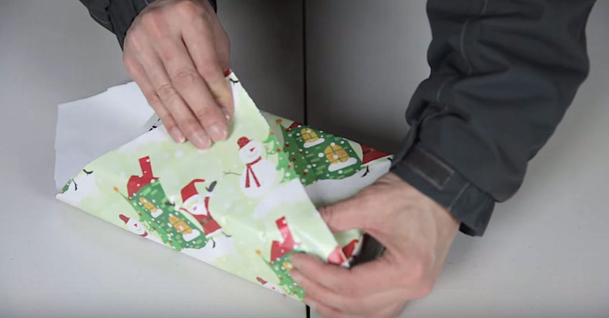 Wrap those festive presents in a jiffy with this for Japanese wrapping