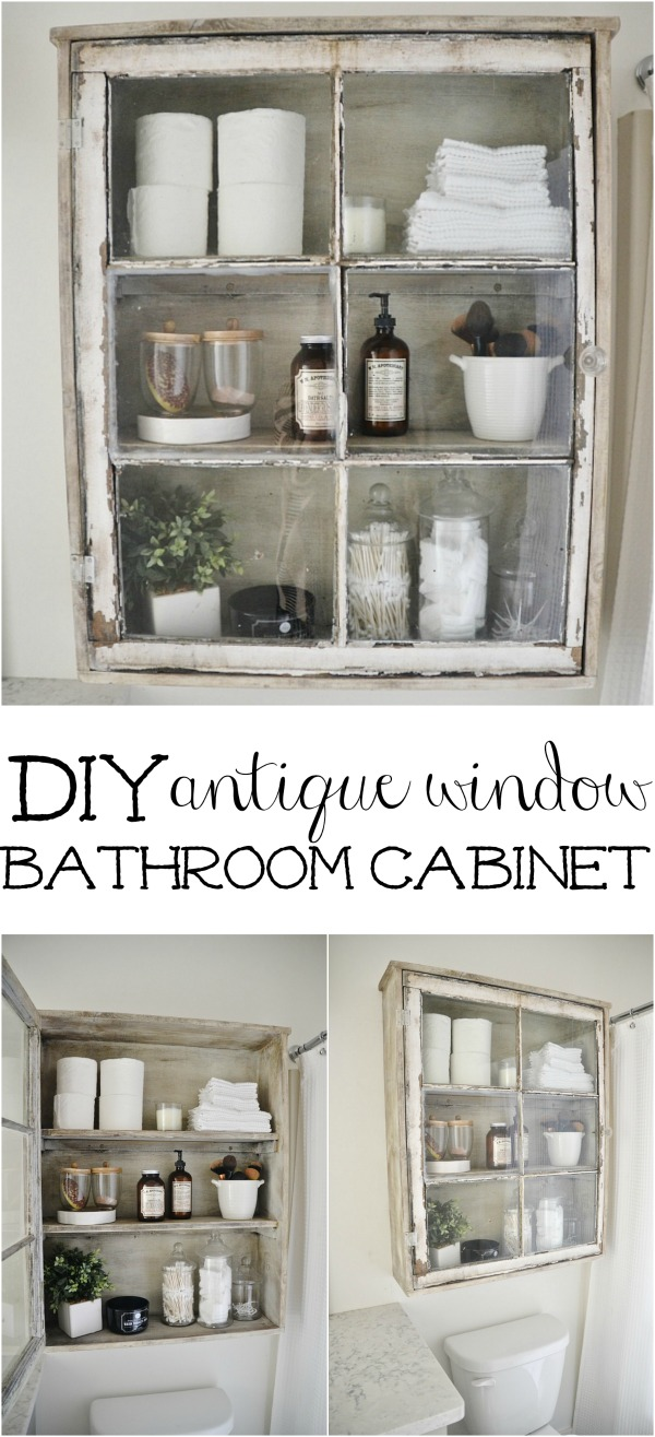 25 utterly innovative diy bathroom projects to give your space a diy bathroom cabinet solutioingenieria Images