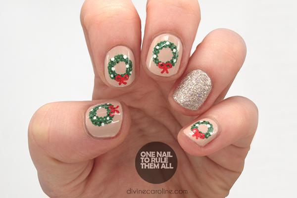 Festive Christmas Nail Art Tutorial