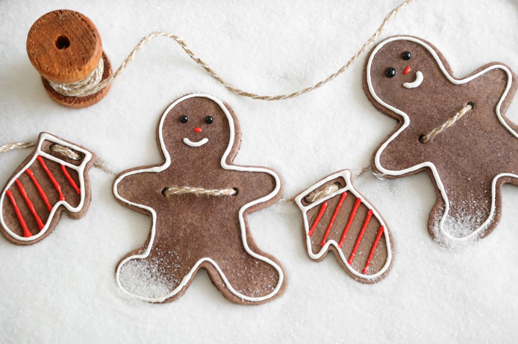 Gingerbread Folk Ornaments