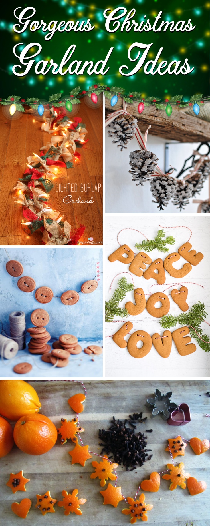 Gorgeous Christmas Garland Ideas To Spruce Up Your Home With X'mas Spirit