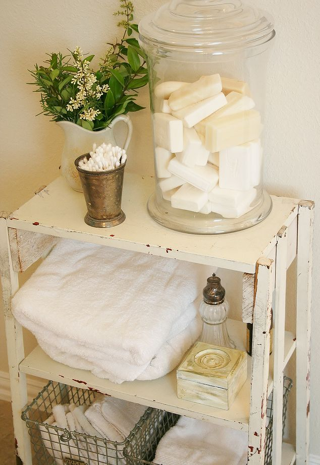 15 shabby chic bathroom ideas transforming your space from simple to classic cute diy projects - Decoratie spa ...
