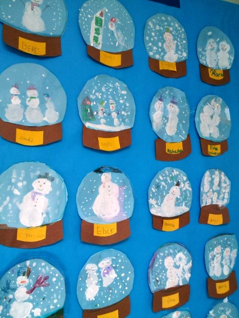 Pretty Snowglobes