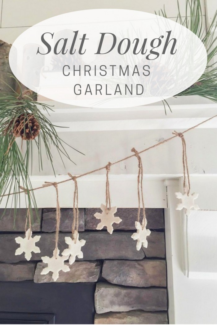 Salt Dough Christmas Garland