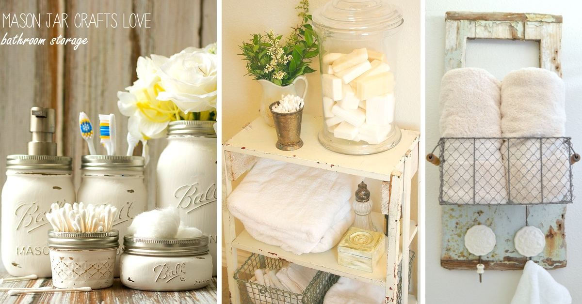 15 Shabby Chic Bathroom Ideas Transforming Your Space From Simple To  Classic U2013 Cute DIY Projects
