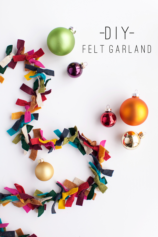 Tell Felt Garland