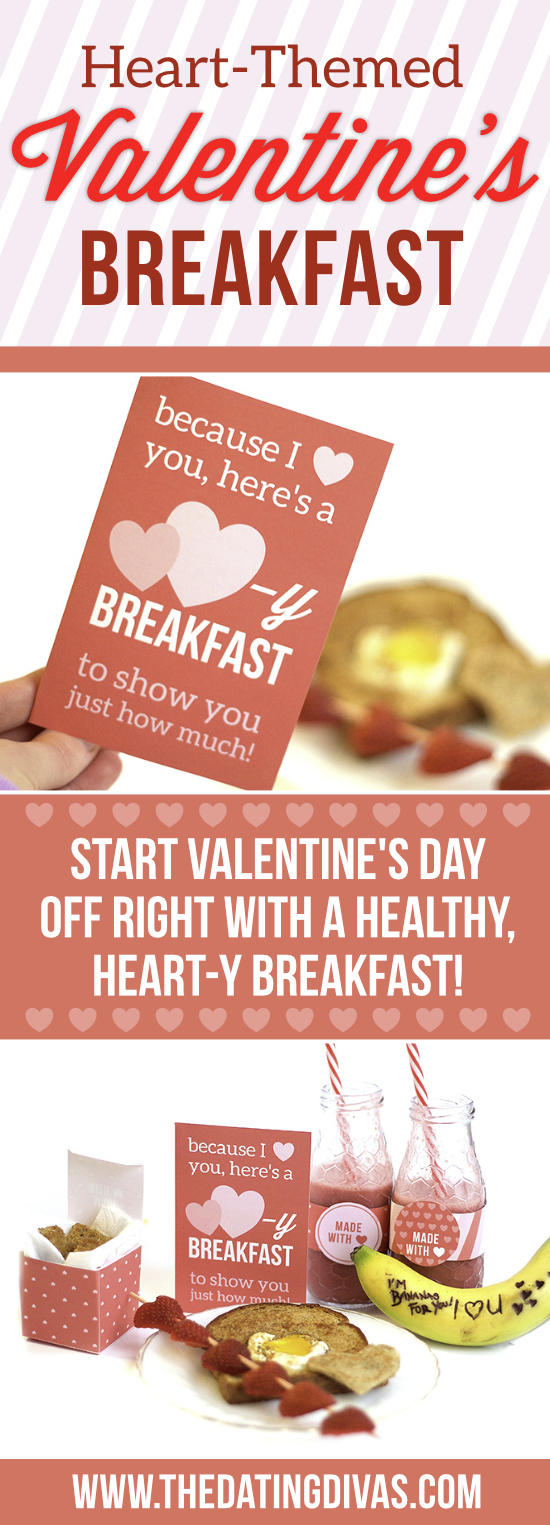 A Heart-y Valentine's Day Breakfast in Bed