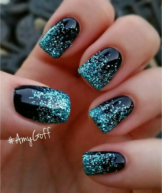 12 add life to a dark backdrop - Gel Nails Designs Ideas