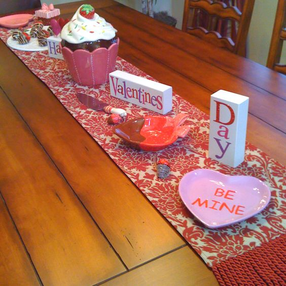 Be mine Valentine's Table