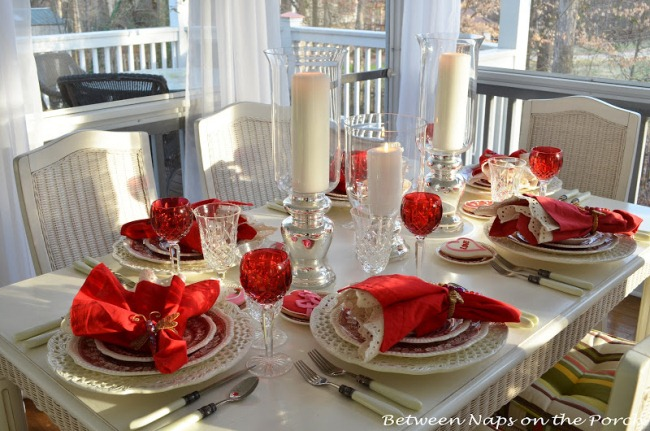 Candlelit and Romantic : Table Setting