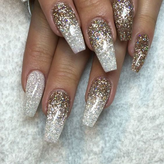 Champagne Glitter and Sparkles