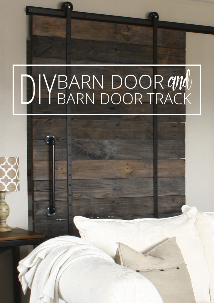 DIY Barn Door and Track