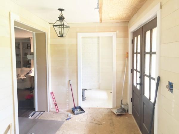 DIY Front Porch Barn Door