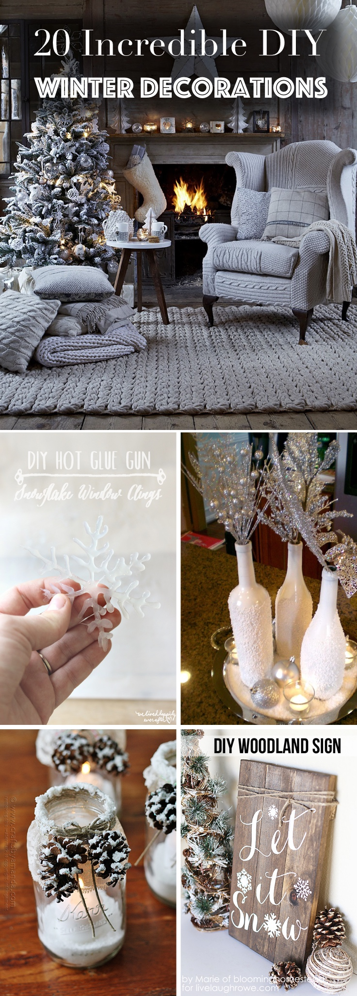 DIY Winter Decorations