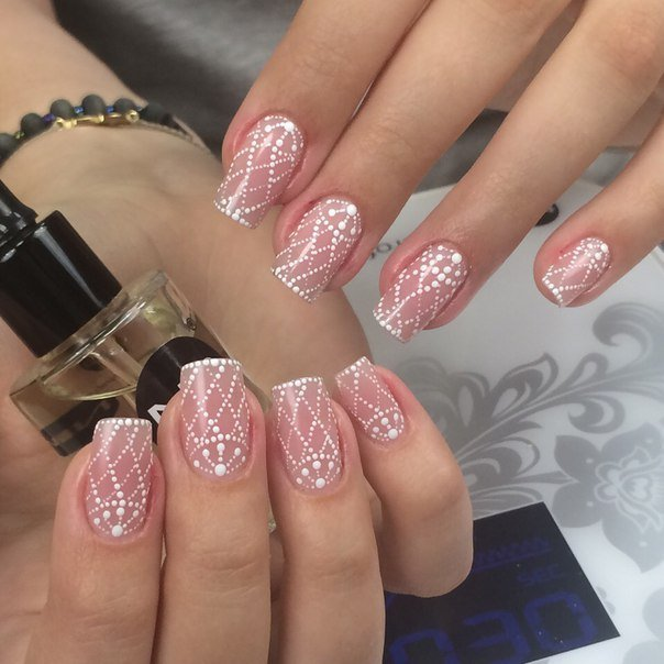 Exquisite Mesh on Nails