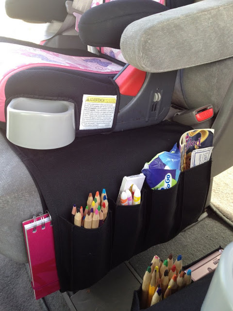 Flort turned into Car Organizer for Kids