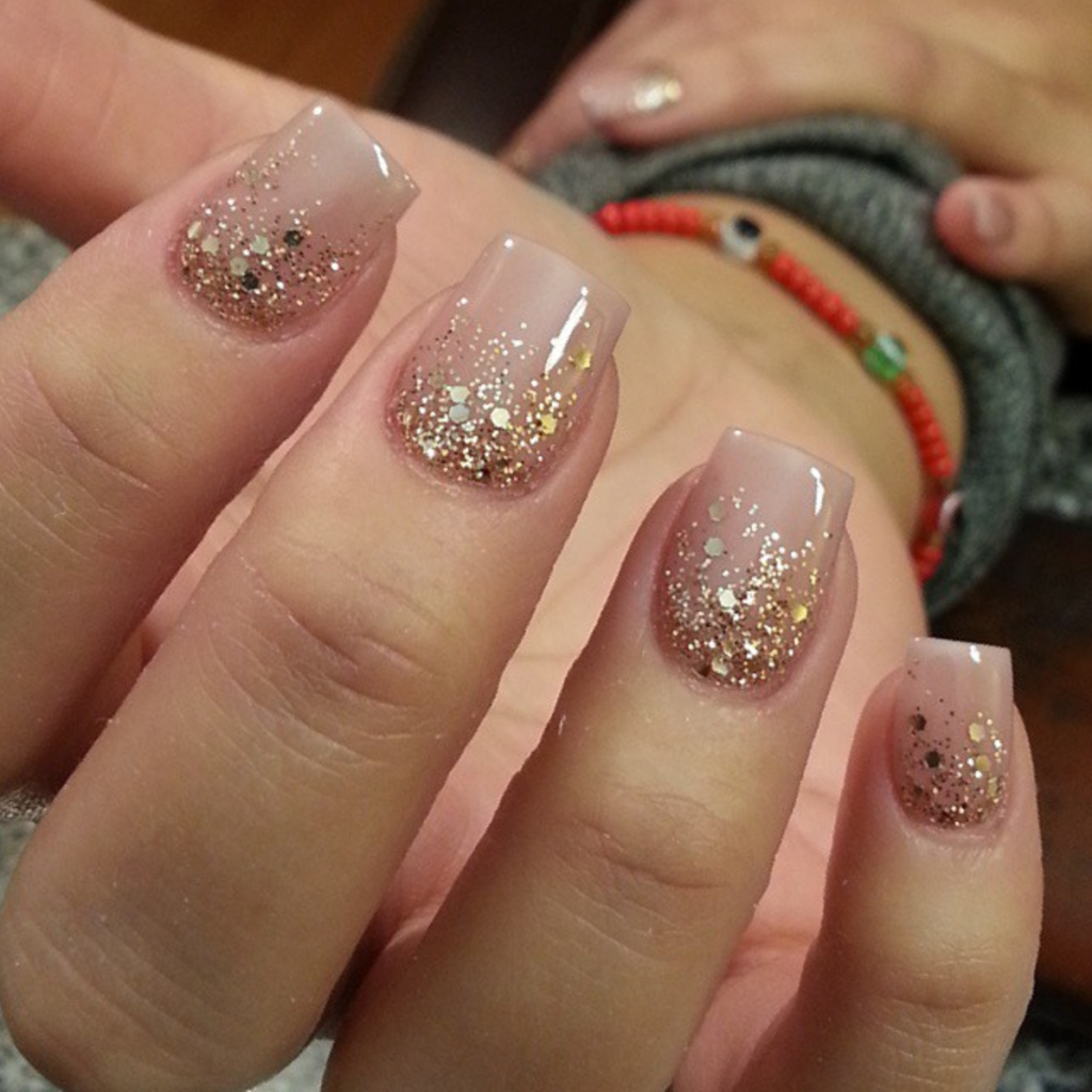 heavens rain manicure who said that a gel nail design - Gel Nail Design Ideas